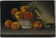 Still Life with Peaches, Raphaelle Peale